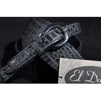 EL DORADO GATOR MODEL GUITAR STRAP BLACK XXL 55''-61''