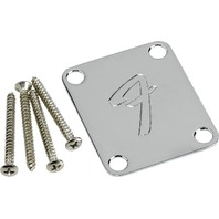 "Fender Neck Plate ""F"" Chrome (0991448100)"