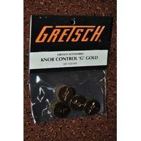 GRETSCH  KNOB CONTROL ''G'' GOLD  4-PACK