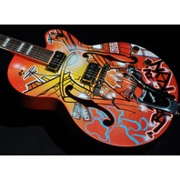 GRETSCH  G6120KB  KAVES BROOKLYN #4/12 ''MADE IN BROOKLYN'' GRAFFITI GUITAR HARDSHELL INCLUDED