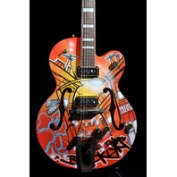 GRETSCH  G6120KB  KAVES BROOKLYN #4/12 ''MADE IN BROOKLYN'' GRAFFITI GUITAR
