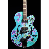 GRETSCH  G6120KB  KAVES BROOKLYN #9/12 '' MADE IN BROOKLYN'' GRAFFITI GUITAR