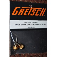 GRETSCH KNOB STRAP GOLD W/HANGER BOLT 2-PACK