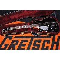 GRETSCH  G6128TDS-LH LEFTY DUO JET BLACK GUITAR WITH DYNASONIC PICUPS