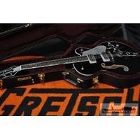 GRETSCH G6139CBSL CENTER BLOCK SILVER FALCON GUITAR HARDSHELL INCLUDED
