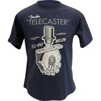 FENDER TELE SWITCH TEE SHIRT NAVY SMALL