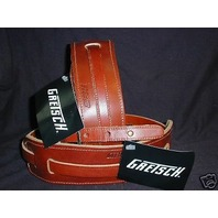 GRETSCH  STRAPS  2- SKINNY  LEATHER  WALNUT  NEW