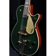 GRETSCH  G6128TCG CADILLAC GREEN DUO JET GUITAR JT14020813 BRAND NEW