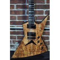 DEAN USA DAVE MUSTAINE ZERO SPALTED MAPLE W/HARDSHELL (LMT EDITION)