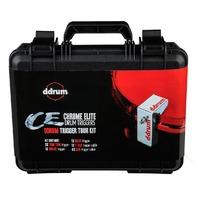 DDRUM CHROME ELITE TRIGGER PACK W/ CASE & CABLES