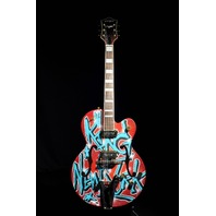 GRETSCH  G6120KB  KAVES BROOKLYN #11/12 '' KING OF NEW YORK'' GRAFFITI GUITAR