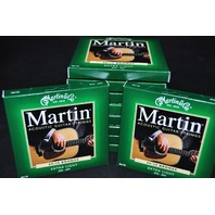 MARTIN M170 EXTRA LIGHT 80/20 (10-PACK) BRONZE ACOUSTIC GUITAR STRINGS