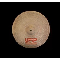 "UFiP Natural Series 22"" Brilliant Light Ride Cymbal FREE WORLDWIDE SHIPPING"