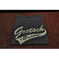 Gretsch Brooklyn Tail Tee Shirt Faded Black Small