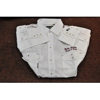 FENDER BY INVITATION ONLY WORKSHIRT WHITE LARGE