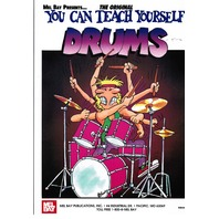 MEL BAY YOU CAN TEACH YOURSELF DRUMS  BOOK