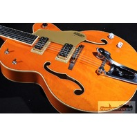 GRETSCH G6120SSLVO NV  VO LQ BRIAN SETZER NASHVILLE GUITAR NEW EDITION HARDSHELL INCLUDED