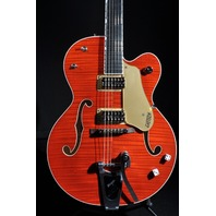 GRETSCH G6120SSU NV  BRIAN SETZER NASHVILLE ORANGE FLAME NEW EDITION