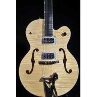 GRETSCH G6120SH BLONDE FLAMED BRIAN SETZER HOT ROD NEW EDITION
