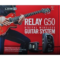 LINE 6  RELAY G50 DIGITAL WIRELESS GUITAR SYSTEM