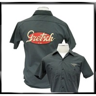 GRETSCH VINTAGE LOGO WORKSHIRT LARGE