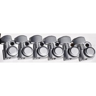 Genuine Fender ''F'' Logo Locking Tuners Brushed Chrome (0990818000)