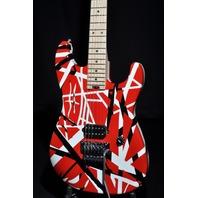 EVH Stripe Series Red/Black/White Guitar 2017 Mint