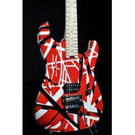 EVH Stripe Series Red/Black/White Guitar  Mint 2015