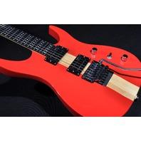 DEAN ZOLTAN SK6 FERRARI RED FLOYD ROSE GUITAR WITH HARDSHELL