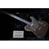 JAMES TRUSSART BARITONE STEELCASTER RUST O MATIC  GUITAR SN:14196