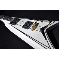 JACKSON RHOADS RRT-3 SNOW WHITE/PINS WITH GIG BAG  ** BRAND NEW **