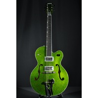 GRETSCH G6120SH GREEN SPARKLE BRIAN SETZER HOT ROD NEW EDITION