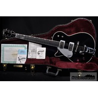 Gretsch G6128TLH Lefty Duo Jet Black Guitar  Brand New Hardshell Included
