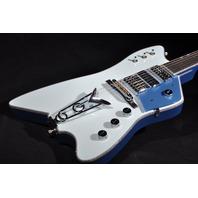 GRETSCH USA CUSTOM SHOP BILLY BO 2-TONE POWDER BLUE 3 PU GUITAR