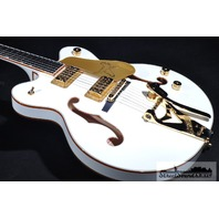 GRETSCH  G6139T-CBDC CENTER BLOCK WHITE FALCON GUITAR  BRAND NEW HARDSHELL INCLUDED
