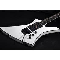 JACKSON USA CUSTOM SHOP SNOW WHITE KE 3H  3-PICKUP GUITAR