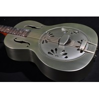Gretsch G9201 Honeydipper Round Neck Metal Resonator Guitar Pump House Roof