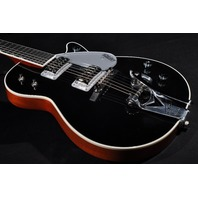 GRETSCH G6128T BLACK DUO JET GUITAR W/HARDSHELL CASE
