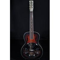Gretsch G9220 Mint Bobtail Resonator Guitar A/E Sunburst Round Neck 2018