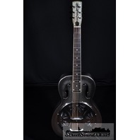 Gretsch G9221 Bobtail Steel Resonator  A/E Guitar Round Neck