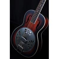 Gretsch G9240 Alligator Biscuit Resonator Guitar Sunburst Round Neck Mint