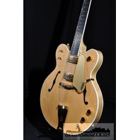 GRETSCH G6122-12 STRING COUNTRY GENTLEMAN GUITAR AMBER STAIN NEW EDITION HARDSHELL INCLUDED