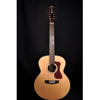 GUILD WESTERLY COLLECTION F-1512 NATURAL 12 STRING JUMBO ACOUSTIC GUITAR
