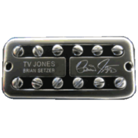TV JONES SETZER SIGNATURE UNIVERSAL MOUNT CHROME BRIDGE  PICKUP