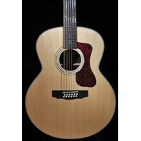 GUILD WESTERLY COLLECTION F-1512E NATURAL 12 STRING JUMBO ACOUSTIC ELECTRIC GUITAR