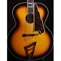 D'ANGELICO DAEX 63SB SUNBURST ARCHTOP ACOUSTIC ELECTRIC GUITAR HARDSHELL INCLUDE