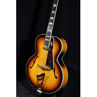 D'ANGELICO DAEX STYLE B SUNBURST ARCHTOP ACOUSTIC ELECTRIC GUITAR HARDSHELL INCLUDED