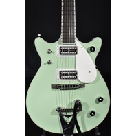 GRETSCH BROADWAY JADE PENGUIN DOUBLE CUTAWAY GUITAR G6134TDC LIMITED EDITION 15 PIECES