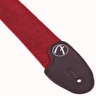 Fender 2'' Inch Tweed Cotton Style Guitar Strap Red/Black New
