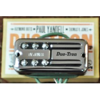 TV JONES PAUL YANDELL DUO TRON UNIVERSAL MOUNT CHROME NECK PICKUP
